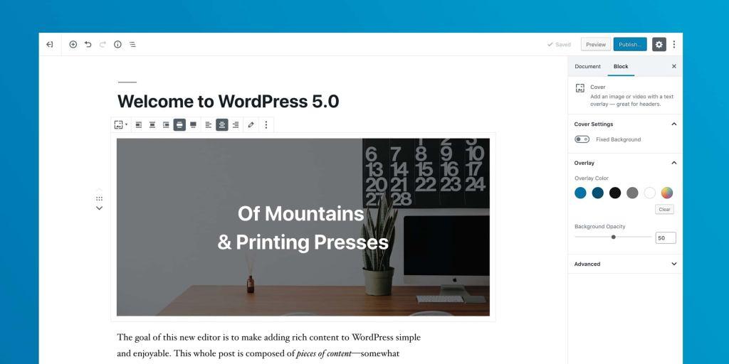 WordPress 5.0正式版发布,升级必看