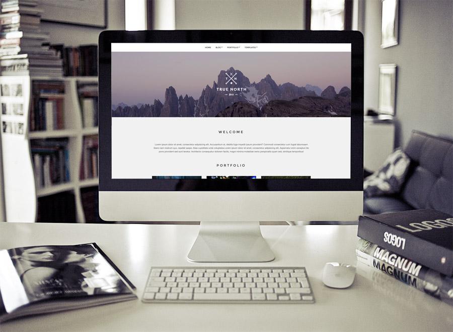 免费WordPress个人工作室网站主题Truenorth