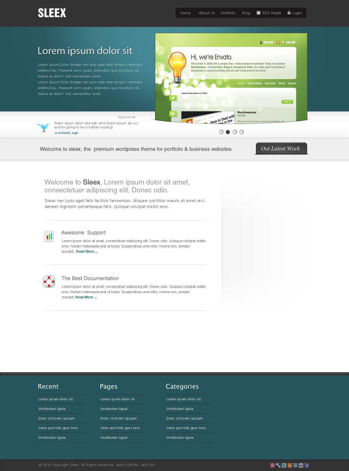 WordPress企业主题