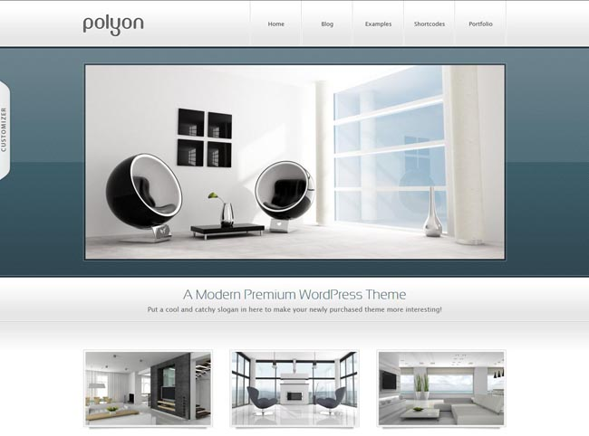 wordpress企业主题Polyon