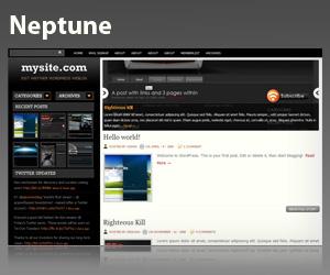 PS:右栏顶部是一个幻灯片,显示最新文章的图片和部分内容.-